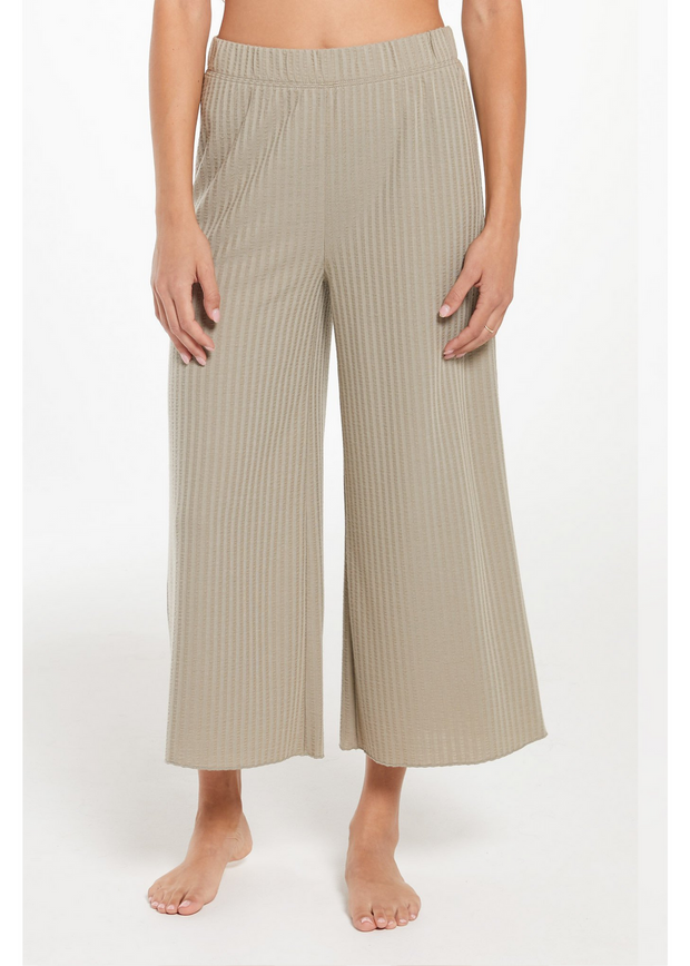 Z Supply Island Rib Crop Pant