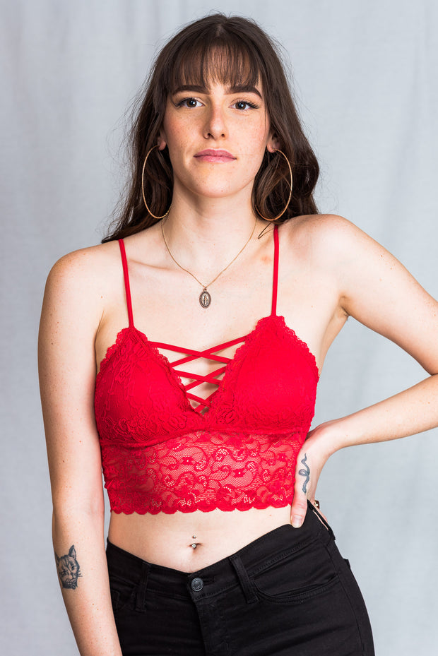 Dynamic Lace Criss Cross Bralette