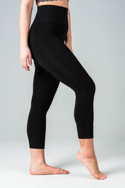 Bamboo Crop Legging (3 colours)