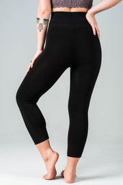 C'est Moi Bamboo High Waisted Crop Legging