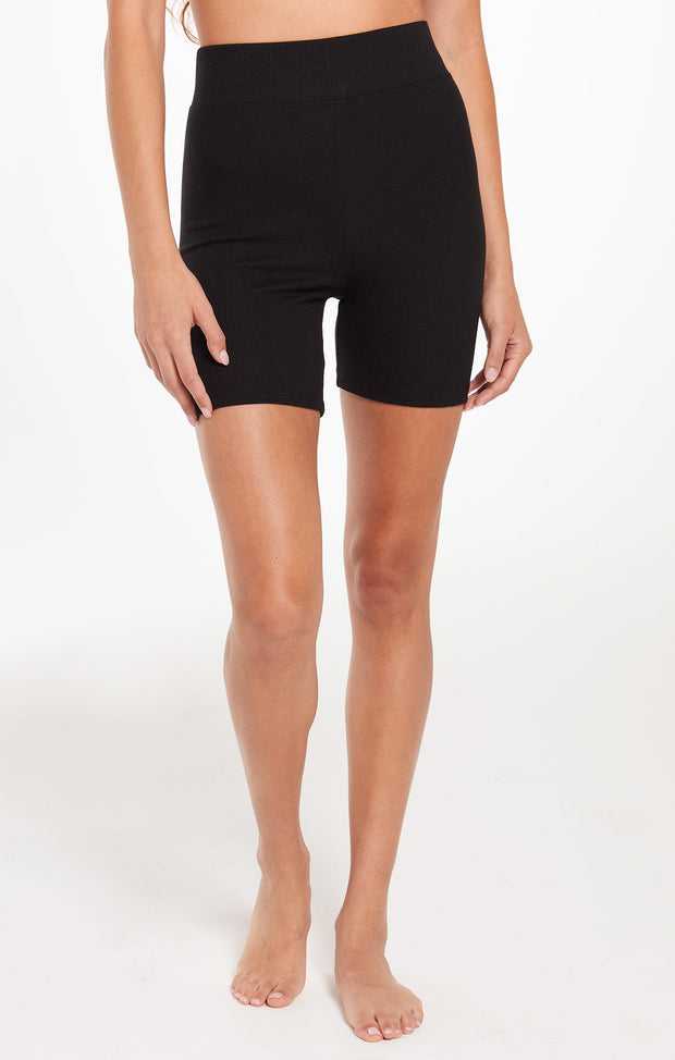 Z Supply Clara Rib Short (Black)