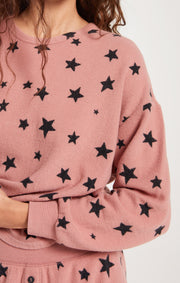Z Supply Love Notes Star Pullover