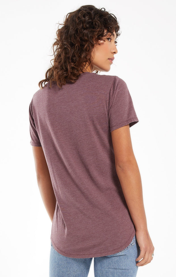 Z Supply Pocket Tee (Merlot)