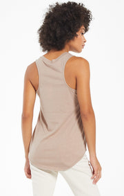 Z Supply Pocket Racer Tank (Taupe)