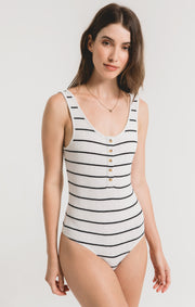 Z Supply Seri Stripe Bodysuit