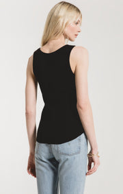 Z Supply Texture Rib Tank (Black)