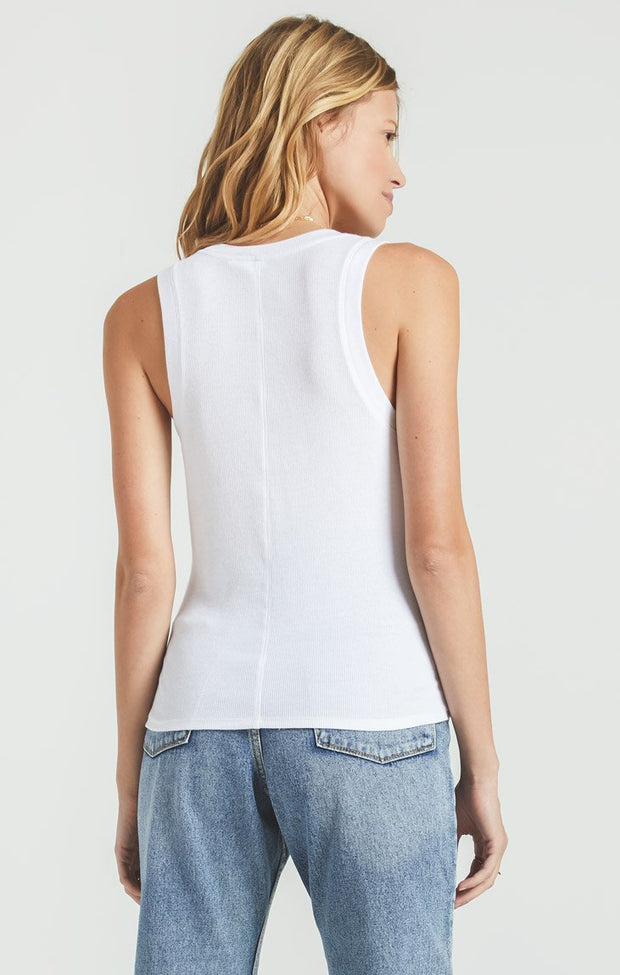 Z Supply Sirena Rib Tank (White)