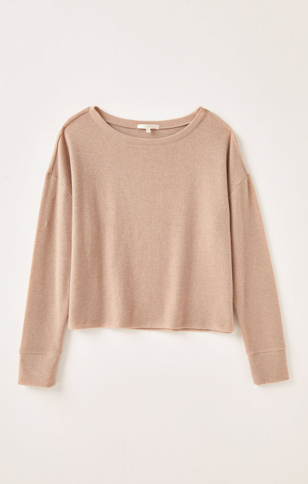 Z Supply Leia Boatneck (Cocoa)