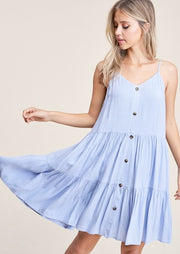 Staccato Summers Dress (Chambray)