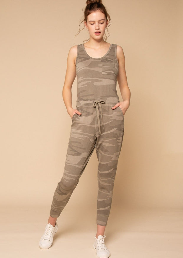 Thread & Supply Perry Jumpsuit (Sage Camo)