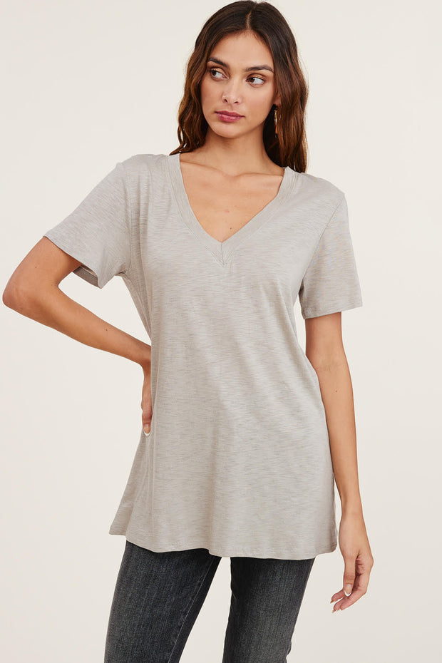 M Rena Paisley Denim Crop Legging (Grey)