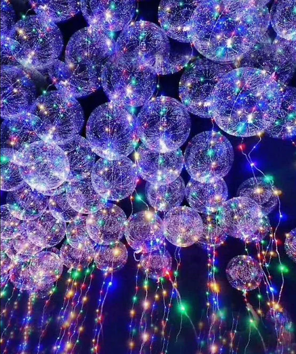 LED BOBO Balloon Lights - Happy Light