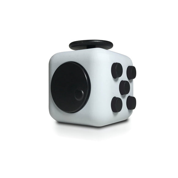 Fidget Cube Anxiety Attention Stress Relief Vinyl Desk Toy for Children and Adults - Gray - Fidget Cubes & Spinners - Cowboy Wholesale