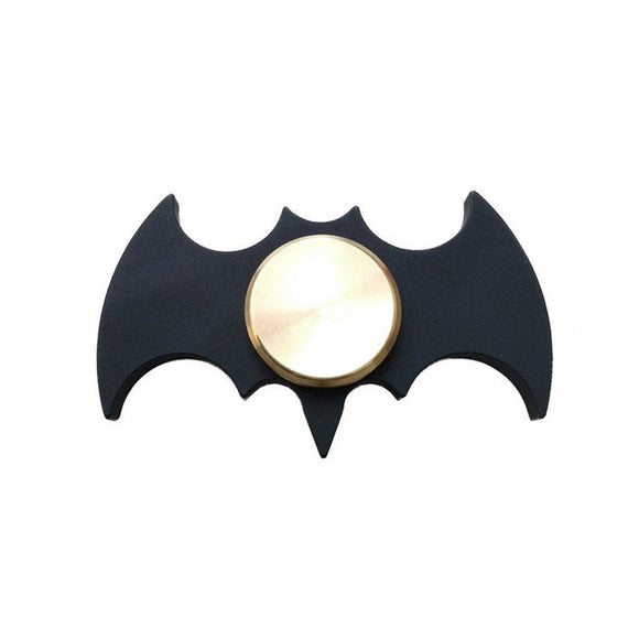 Batman Metallic Black Fidget Spinner (Copper Alloy)