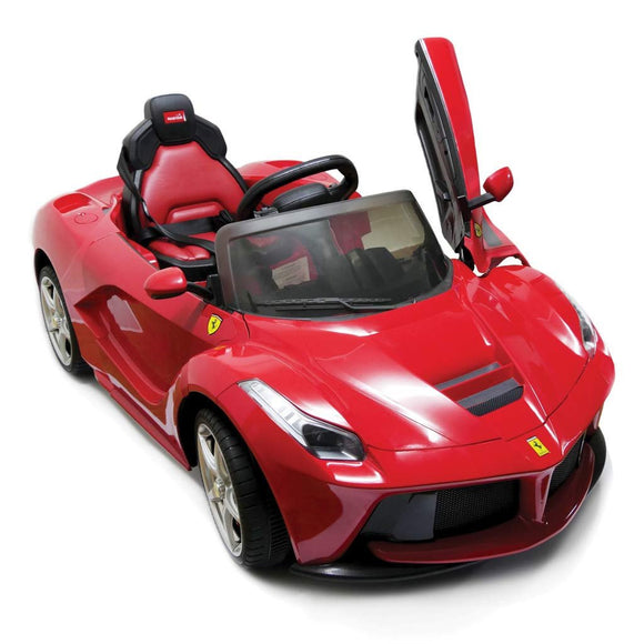 Kids Ride On Toy Car Ferrari LaFerrari With Parental Remote Control (82700) - Kids Ride On Cars - Cowboy Wholesale