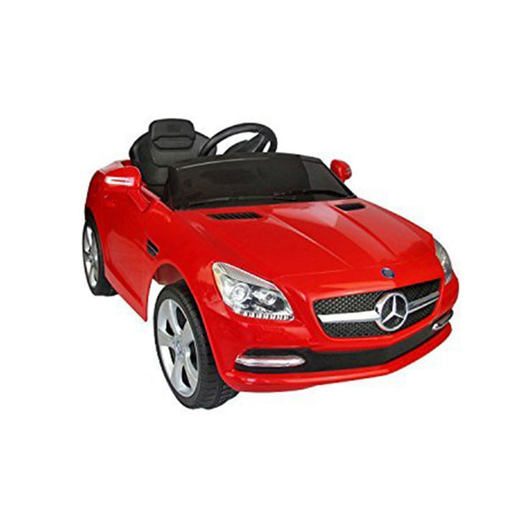 Kids Ride On Toy Car Mercedes-Benz SLK 250 With Parental Remote Control (HDF J-522A) - Kids Ride On Cars - Cowboy Wholesale
