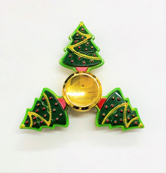 Fidget Christmas Tree Tri-Spinner