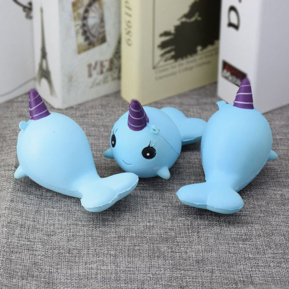 Squishy Toy - Narwhal