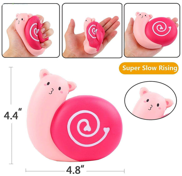 Squishy Toy - Pink Snail