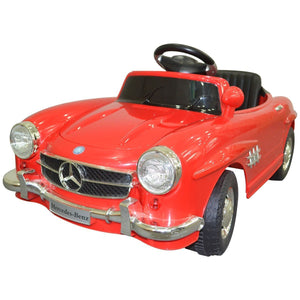 Kids Ride On Toy Car Mercedes Benz 300SL With Parental Remote Control (QX-7998) - Cowboy Wholesale