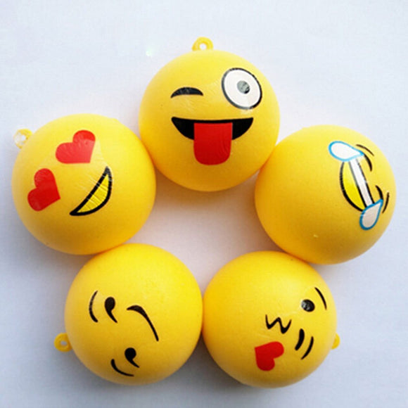 Squishy Toy -Emoji Keychain (12 Pack)