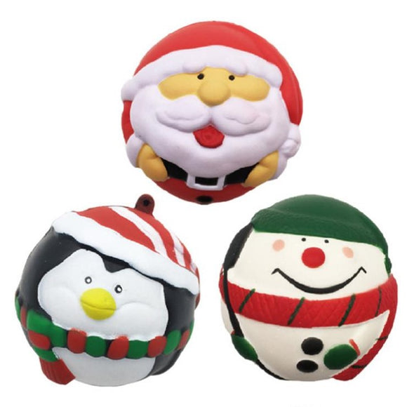 Squishy Toy -Holiday Special (Santa, Snowman, Penguin)