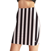 STRIPES BODYCON SKIRT
