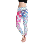 LOTUSX™ SPACE UNICORN GRADIENT LEGGINGS