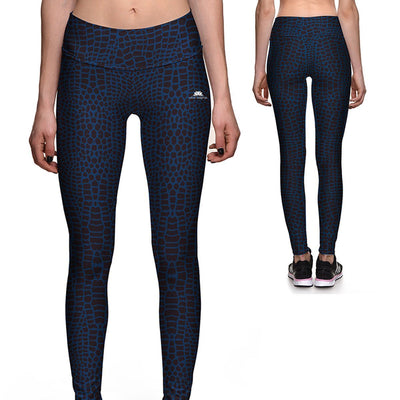 SNAKESKIN ATHLETIC LEGGINGS