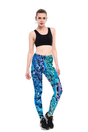 BLUE FOAM LEGGINGS