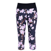 CHERRY BLOSSOM ATHLETIC CAPRI