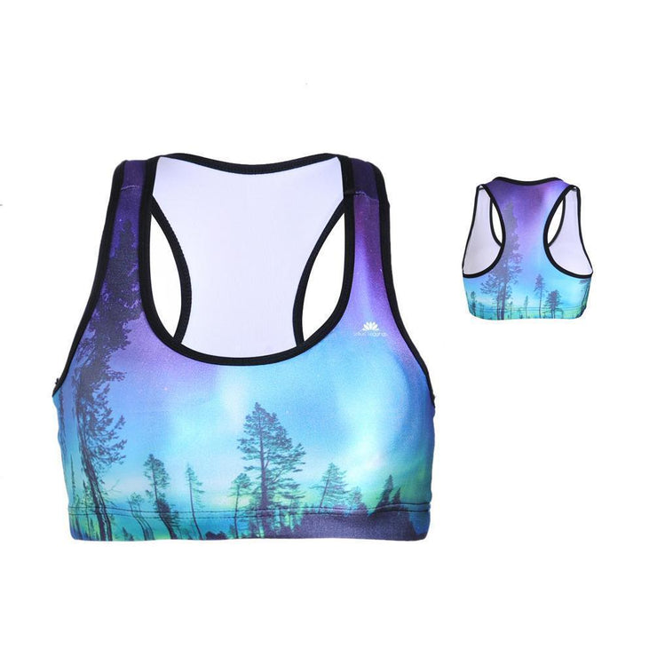 ENCHANTED FOREST SPORTS BRA