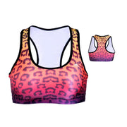 OMBRE CHEETAH SPORTS BRA