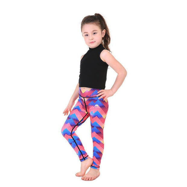 LOTUSX™ KID'S ZIGZAG LEGGINGS