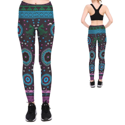AQUATIC TAPESTRY LEGGINGS