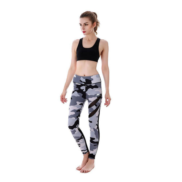 GRAY CAMO MAXREVEAL LEGGINGS