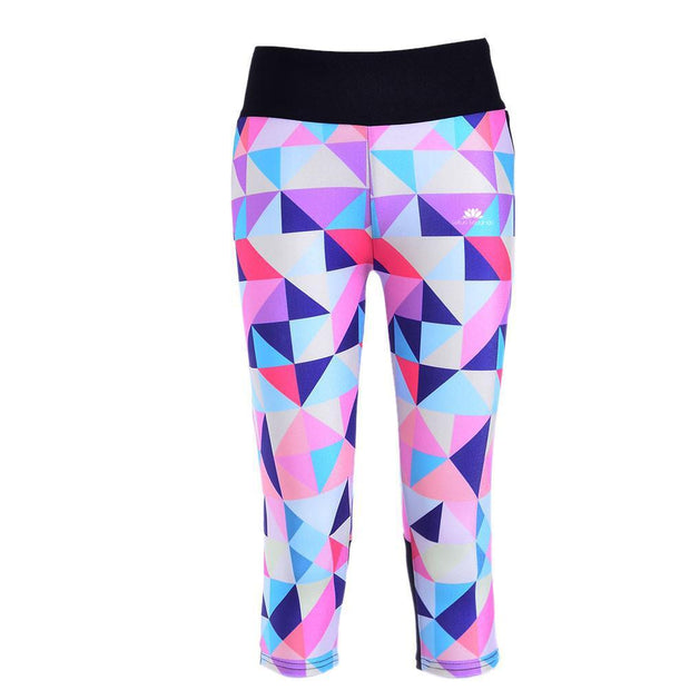 DIAMOND ATHLETIC CAPRI - Lotus Leggings