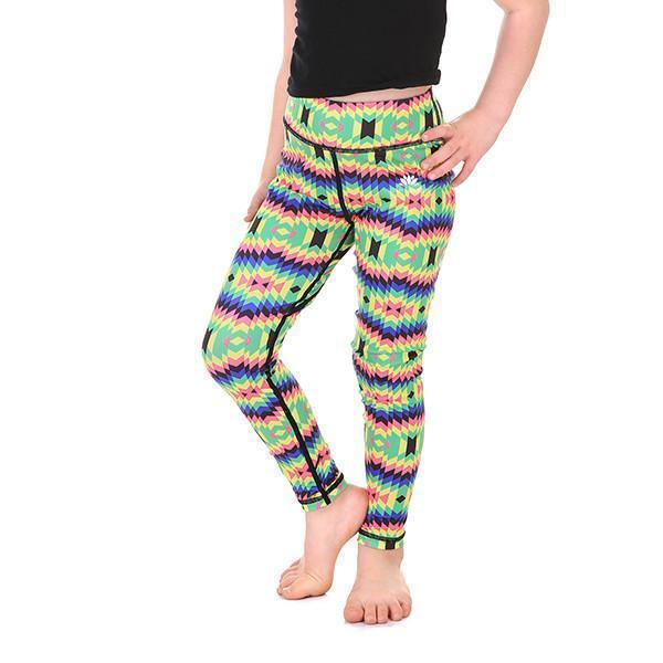 LOTUSX™ KID'S CRAZY RAINBOW LEGGINGS