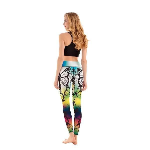 LotusX™ Prisma Butterfly Leggings - Lotus Leggings