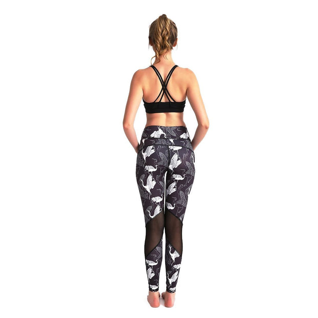 Ostrich MaxLite Leggings - Lotus Leggings