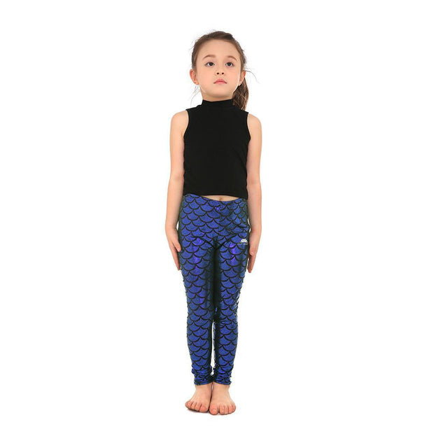 KID'S MERMAID LEGGINGS