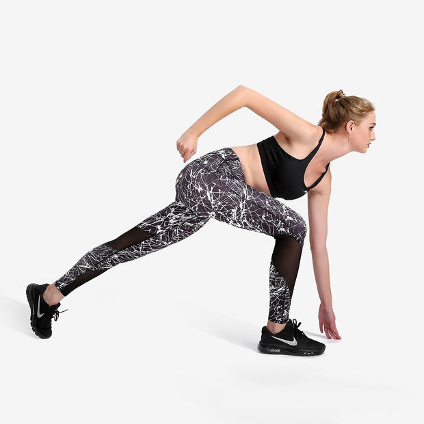 Spider Web MaxLite Leggings - Lotus Leggings
