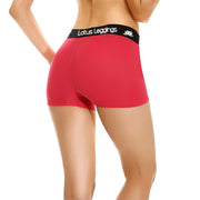 LOTUS LEGGINGS ROSY RED BOYSHORTS