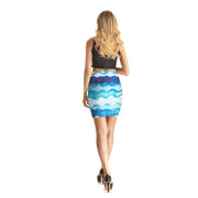 Wavy Bodycon Skirt - Lotus Leggings