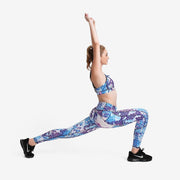 Mosaic Scales PerformX Athletic Set - Lotus Leggings