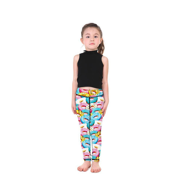 Yummy Donuts Kid's Leggings - Lotus Leggings