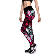 CANDY SKULL ATHLETIC LEGGINGS