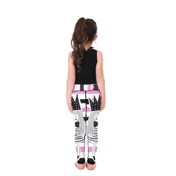 PRETTY QUEEN KID'S LEGGINGS