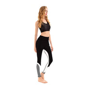 LOTUSX™ BLACK HONEYCOMB LEGGINGS