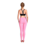 PRETTY IN PINK GRIP MESHX LEGGINGS